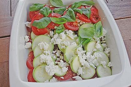Tjaldas leichtes Zucchini - Tomaten - Gemüse 1