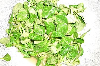 Gemischter Feldsalat mit Himbeeressig - Dressing 27