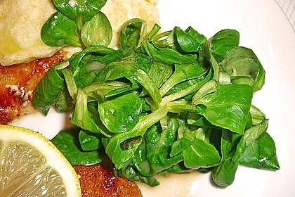 Gemischter Feldsalat mit Himbeeressig - Dressing 26