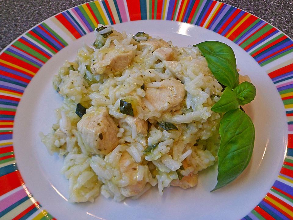 zucchini hähnchen pfanne