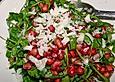 Rucola - Granatapfel - Salat mit Pecorino