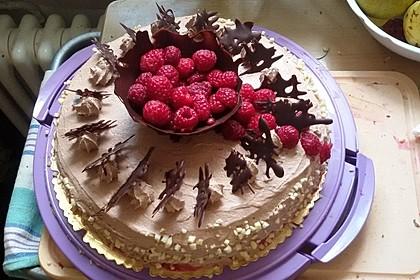 Schoko - Sahne - Torte 1