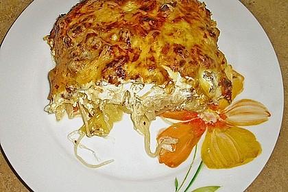 Kartoffel - Sauerkraut - Auflauf 0