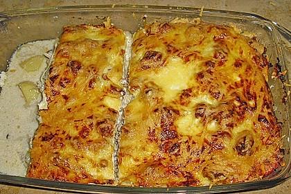 Kartoffel - Sauerkraut - Auflauf 1