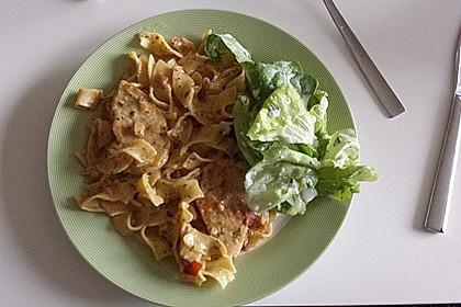 Pasta mit Schweinefilet in Kräutersahne 19