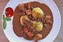 Puten - Pilz - Gulasch