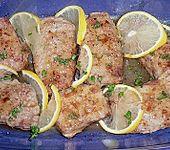 Kalbsschnitzel in Zitronensauce (Bild)