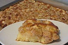 Apfel - Zimt - Streuselkuchen