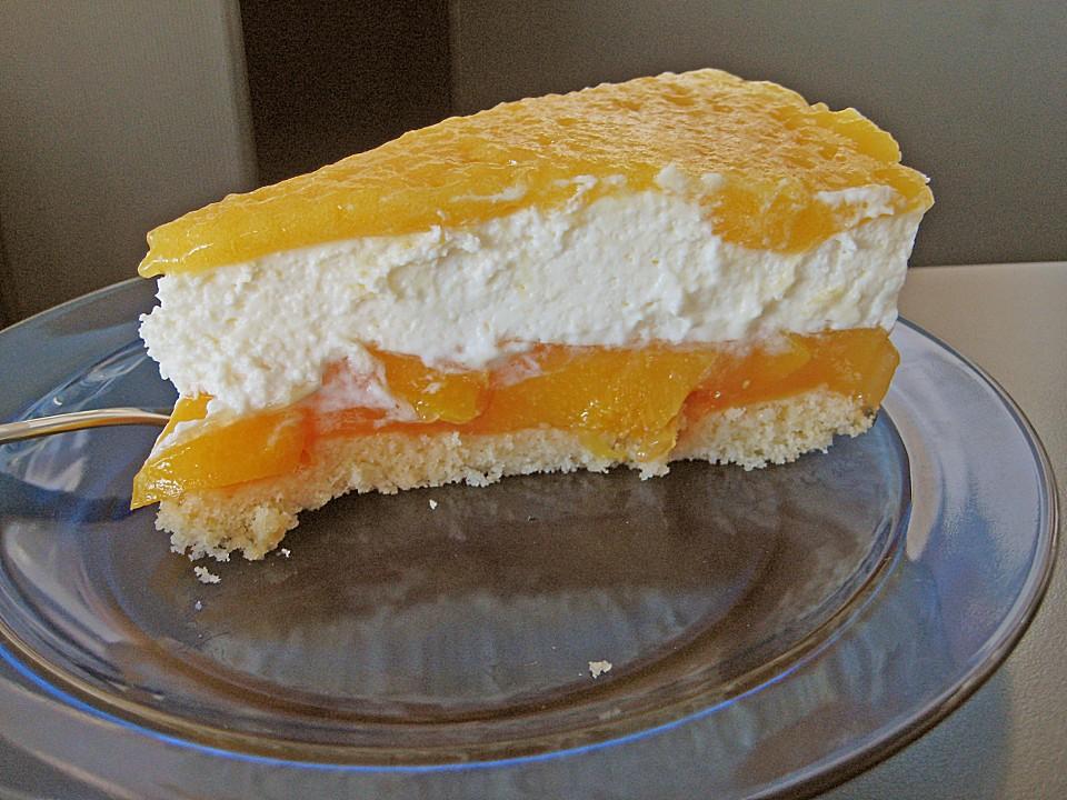 Kuchen mit aranca pudding