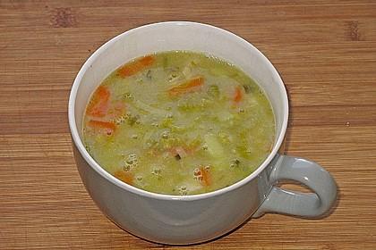 Schnelle Gemüsesuppe 4