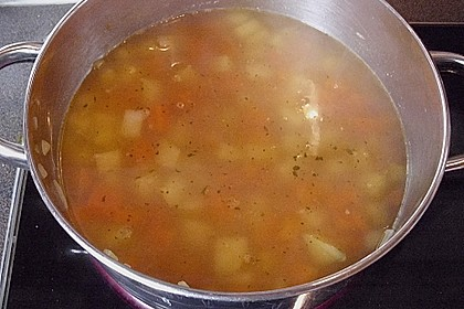 Schnelle Gemüsesuppe 23