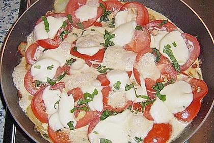 Kartoffelpfanne mit Mozzarella 6