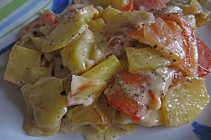 Kartoffelpfanne mit Mozzarella 15