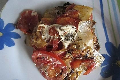 Kartoffelpfanne mit Mozzarella 17