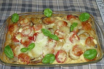 Kartoffelpfanne mit Mozzarella 9