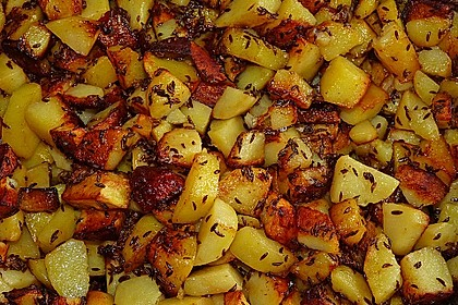Knusprige Bratkartoffeln 2