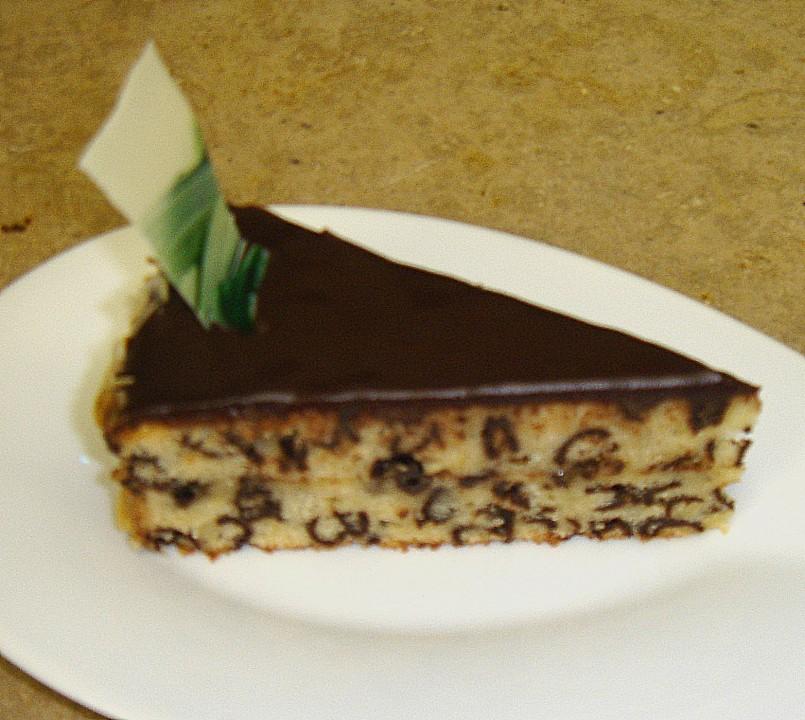 Spanische vanillecreme torte