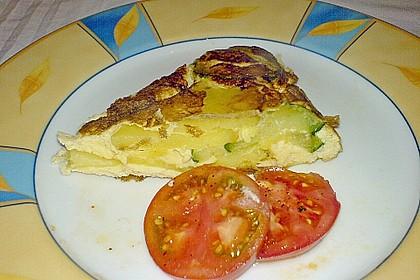 Tortilla mit Zucchini 2