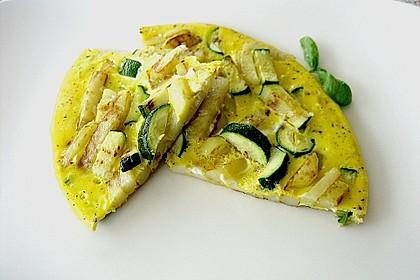 Tortilla mit Zucchini 0