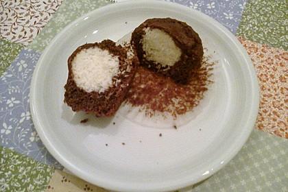 Schoko - Muffins mit Kokos - Herz 47