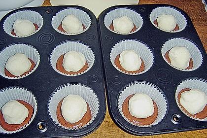 Schoko - Muffins mit Kokos - Herz 111