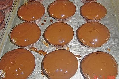 Schoko - Muffins mit Kokos - Herz 107