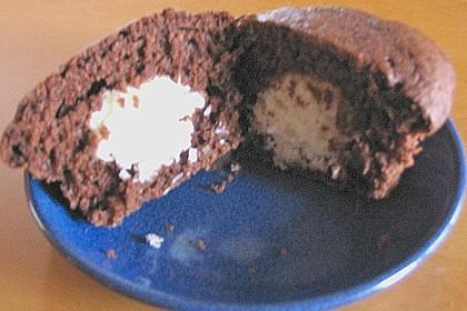 Schoko - Muffins mit Kokos - Herz 95