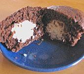 Schoko - Muffins mit Kokos - Herz (Bild)