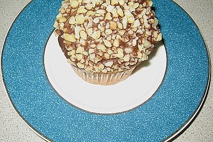 Schoko - Muffins mit Kokos - Herz 91