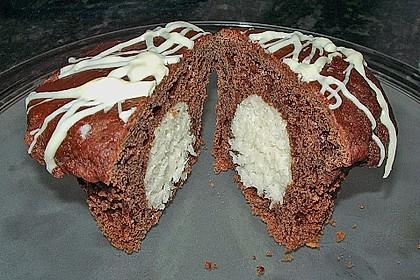 Schoko - Muffins mit Kokos - Herz 9