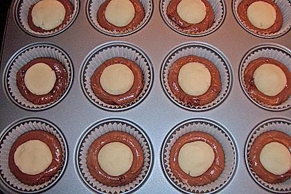 Schoko - Muffins mit Kokos - Herz 105