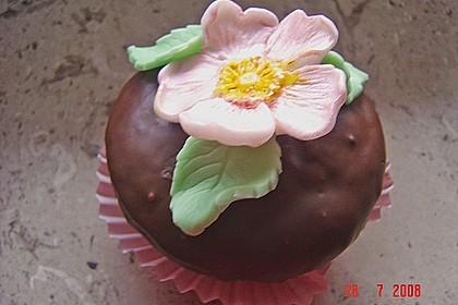 Schoko - Muffins mit Kokos - Herz 92