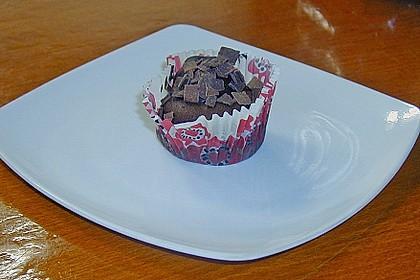 Schoko - Muffins mit Kokos - Herz 131