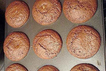 Schoko - Muffins mit Kokos - Herz 79