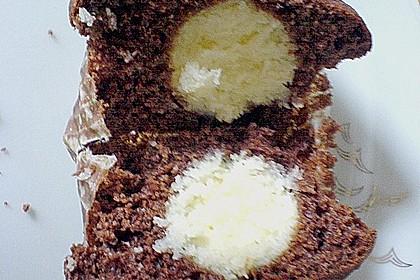 Schoko - Muffins mit Kokos - Herz 53