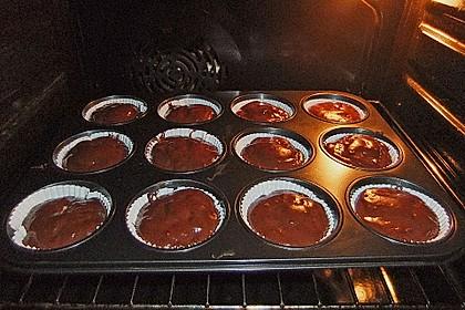 Schoko - Muffins mit Kokos - Herz 102