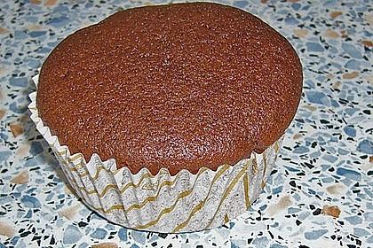 Schoko - Muffins mit Kokos - Herz 54