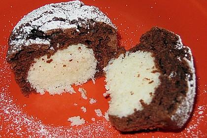 Schoko - Muffins mit Kokos - Herz 30