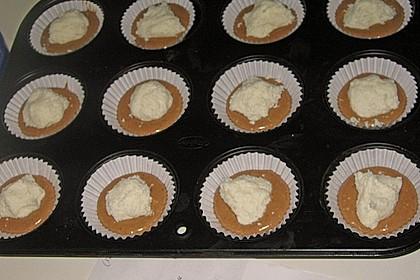 Schoko - Muffins mit Kokos - Herz 123