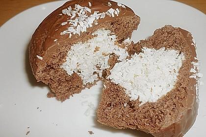 Schoko - Muffins mit Kokos - Herz 44