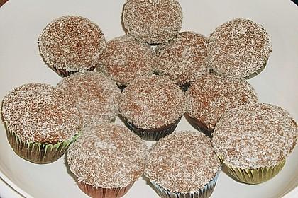 Schoko - Muffins mit Kokos - Herz 76