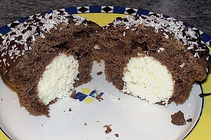 Schoko - Muffins mit Kokos - Herz 21