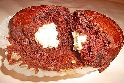 Schoko - Muffins mit Kokos - Herz 43