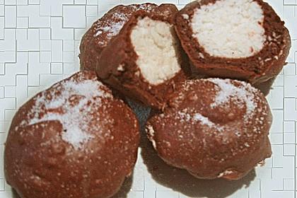 Schoko - Muffins mit Kokos - Herz 87