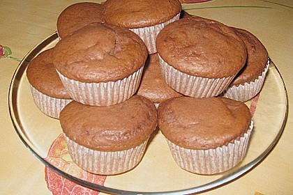 Schoko - Muffins mit Kokos - Herz 130