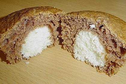 Schoko - Muffins mit Kokos - Herz 49