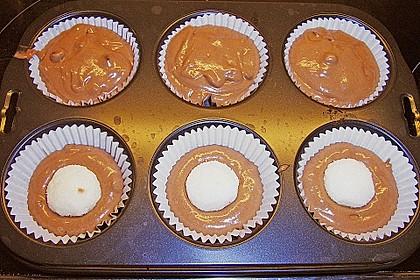 Schoko - Muffins mit Kokos - Herz 115