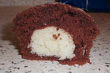 Schoko - Muffins mit Kokos - Herz 19