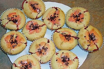 Erdbeer - Joghurt - Muffins 12