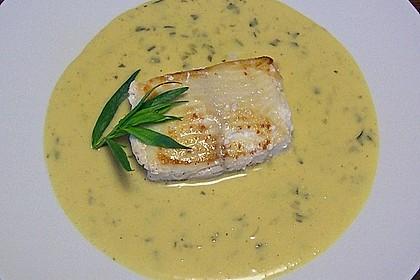 Senfsauce zu Fischgerichten